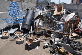 Detienen a un hombre por robar herramientas en una casa de campo de Manacor