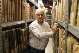 Gabriel Pieras deja su trabajo en el Archivo Histórico Municipal de Inca
