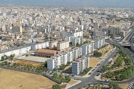 Vista aérea del Polígono de Levante en Palma
