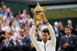 Djokovic vence a Federer y logra su quinto título en Wimbledon en una final histórica