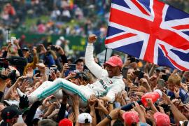 Lewis Hamilton, rey de Silverstone