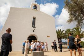 La festividad de la Virgen del Carmen en Es Cubells, en imágenes (Fotos: T. Planells).