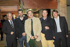 Inauguración de la Casa Gallega en la avenida Comte Sallent de Palma