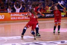 La selección española femenina de hockey patines, campeona del mundo por séptima vez