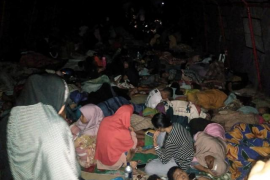 El terremoto registrado el domingo en Indonesia causa al menos dos muertos