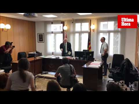 El magistrado Eduardo Calderón se jubila a los 72 años de edad