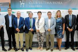 Martínez Mojica, en el Club Ultima Hora