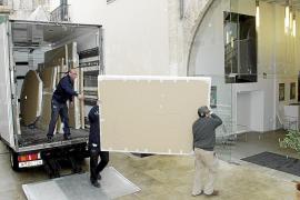 Las piezas del Museu de Mallorca llegan al Centre de Cultura Sa Nostra