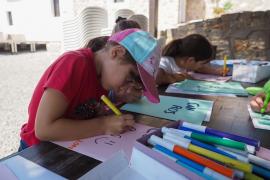 Los talleres infantiles en el Museu Etnogràfic d'Eivissa, en imágenes .