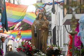 La Virgen del Carmen, la preferida de los ibicencos y de Cristine Delmelle