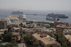 Cort, Govern y APB crearán un grupo de trabajo para abordar la problemática de los cruceros en Palma