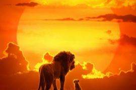 Cartel de la película 'El Rey León'