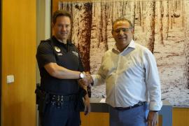 Francisco Darder, nuevo jefe de la Policía Local de Calvià