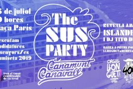 The SUS Party, la fiesta de inauguración de Canamunt y Canavall ya tiene fecha