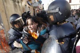 La Fiscalía abre diligencias por las actuaciones policiales en Valencia