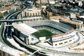 Imagen de archivo del estadio Vicente Calderón.