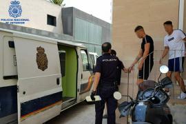 Turistas robando a turistas en la Playa de Palma
