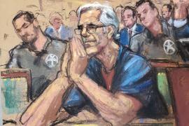 Mantienen la prisión sin fianza al millonario Epstein ante el riesgo de fuga