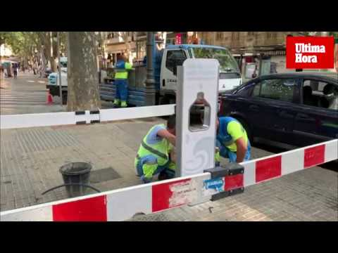 Emaya instala una estación de relleno de agua para reducir el uso del plástico
