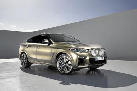 El nuevo BMW X6 llegará al mercado a partir de noviembre