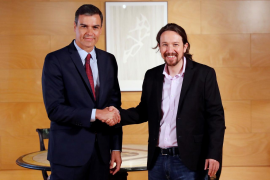Pablo Iglesias renuncia a estar en el Gobierno si Podemos elige a sus ministros