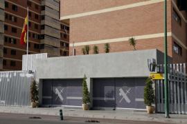 Policías locales salvan la vida a un guardia civil en la Comandancia de Palma