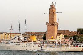 'Norge' y 'Alfa Nero', dos yates de excepción en Palma