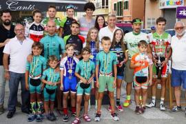 Miguel Indurain júnior gana la decana del ciclismo mallorquín en Inca