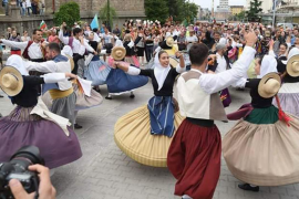La Escola de Música i Danses de Mallorca se alza con el primer premio en el festival folclórico de Vitosha