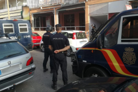 Siete detenidos en distintos operativos de la Policía Nacional en Palma
