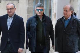 Enrique Morell, Antoni Rotger y Antoni Garcías