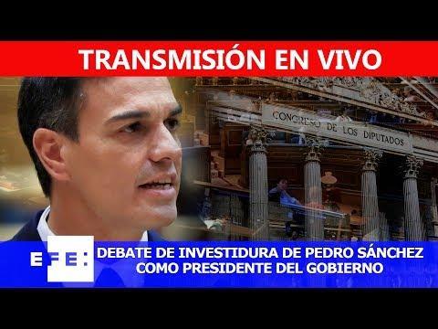 EN DIRECTO | Segunda jornada del debate de investidura de Pedro Sánchez