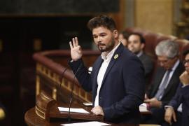 Rufián avisa Sánchez de que está a tiempo de «salvar la situación»