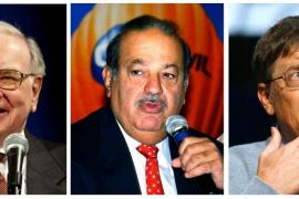 El mexicano Carlos Slim repite como el hombre más rico del mundo
