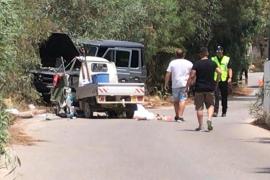 Detenido un conductor que dio positivo en drogas tras un accidente mortal en Ibiza