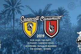 Canamunt i Canavall se enfrentan una año más en una multitudinaria batalla de agua