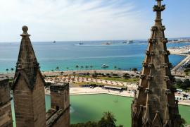 Otra perspectiva de la Catedral de Mallorca