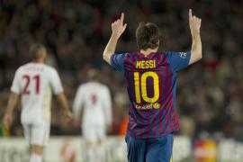 Messi brinda otra obra de arte con un repóquer de goles (7-1)