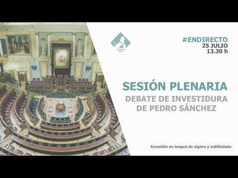 Así ha sido la segunda votación de la fracasada investidura de Sánchez