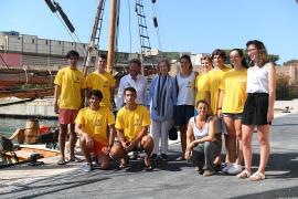 La reina Sofía participa en Palma en jornada de limpieza de basura del mar