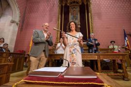 Una presidenta del Consell de Mallorca sin dinero en la cuenta corriente