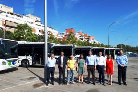 Mejoras en cuatro líneas de la EMT con ocho nuevos buses