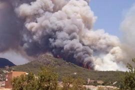 Armengol recuerda «el peor incendio de Baleares» y pide «prudencia» para que no se repita