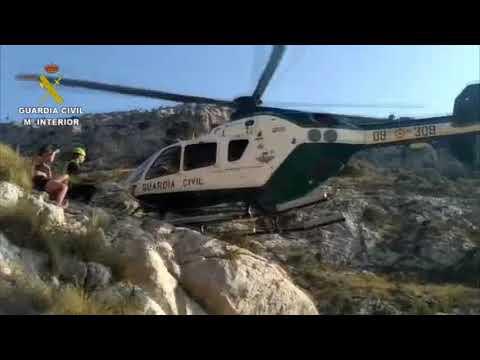 Tres excursionistas rescatados en Cingles de Son Rullán y Cala Varques