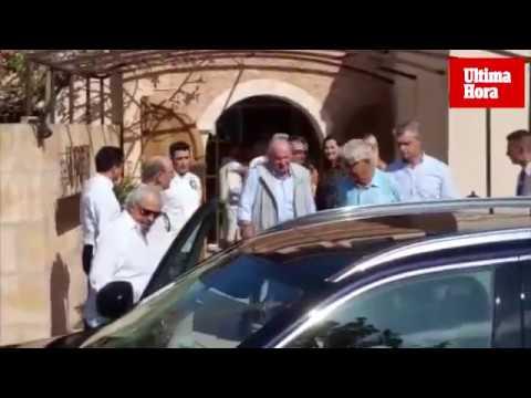 Don Juan Carlos y Doña Sofía visitan la academia de Rafa Nadal en Manacor
