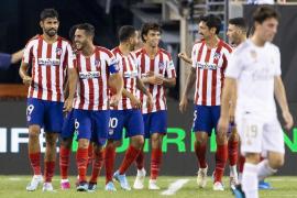 Costa lidera la goleada del Atlético de Madrid al Real Madrid
