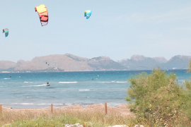 La Guardia Civil sancionará el 'kite surf' en las zonas de baño