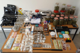 Las redadas de Magaluf se saldan con la intervención de marihuana, hachís, anfetaminas y pastillas