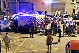 Condenados los jóvenes que forzaron a disparar a la Policía Local de Palma