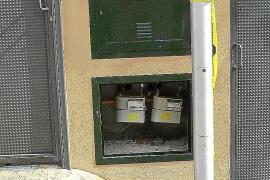 Roban las puertas de cientos de contadores